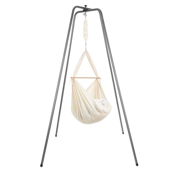 NONOMO® Rental Swinging Hammock-Set Baby nature and Stand...