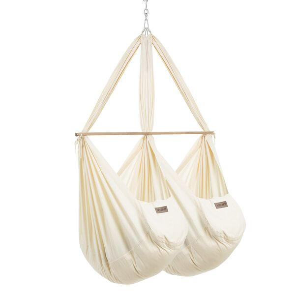 NONOMO® Swinging Hammock-Set Twin Classic with Polyester...