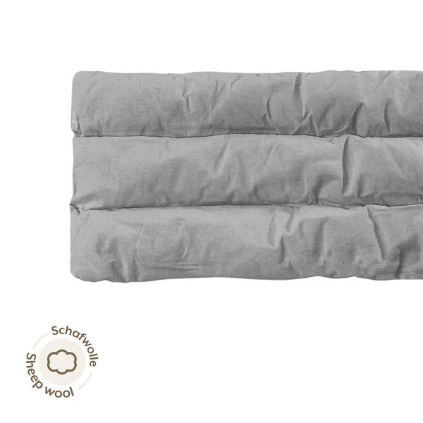 NONOMO® Mattress Baby Sheep Wool for Swinging Hammock - grey