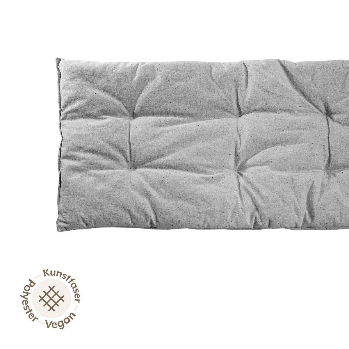 nonomo matratze kleinkind mit kunstfaser grau. Black Bedroom Furniture Sets. Home Design Ideas
