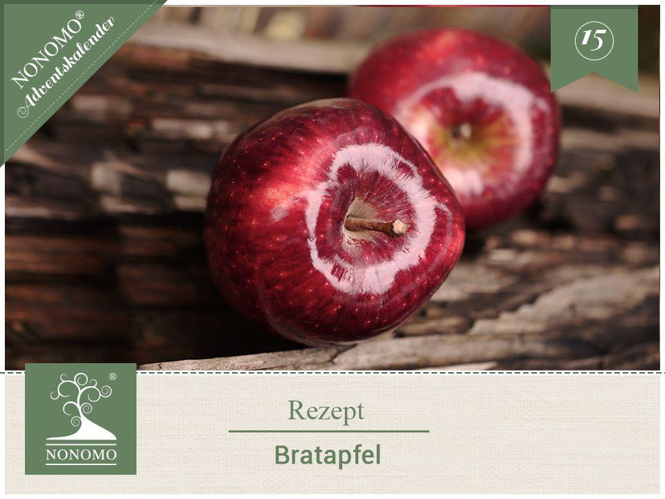 Rezept Bratapfel