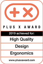 NONOMO Plus X Award 2019 achieved for Hight Quality - Design - Ergonomics