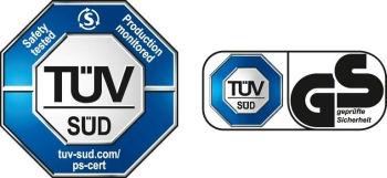 TÜV SÜD Bezpečnost testována - výroba monitorována