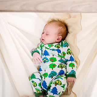 NONOMO Federwiege für Babys